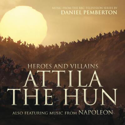 Cover art for Heroes and Villains: Attila the Hun / Napoleon