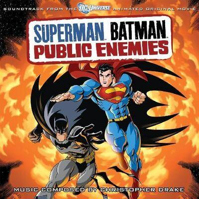 Cover art for Superman/Batman: Public Enemies