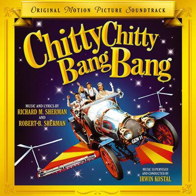 Cover art for Chitty Chitty Bang Bang