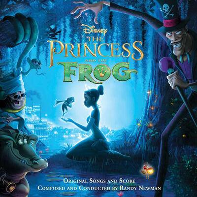 Cover art for The Princess and the Frog