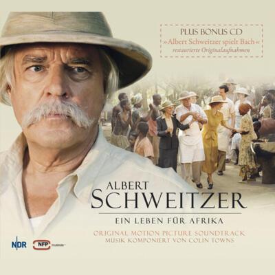 Cover art for Albert Schweitzer