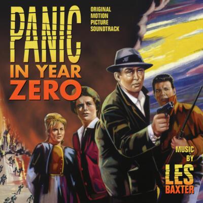 Cover art for Panic in Year Zero