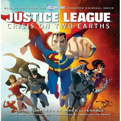 Cover art for Justice League: Crisis on Two Earths