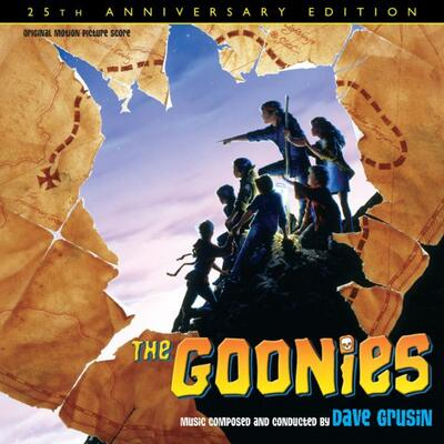 Cover art for The Goonies: 25th Anniversary Edition (Original Motion Picture Score)