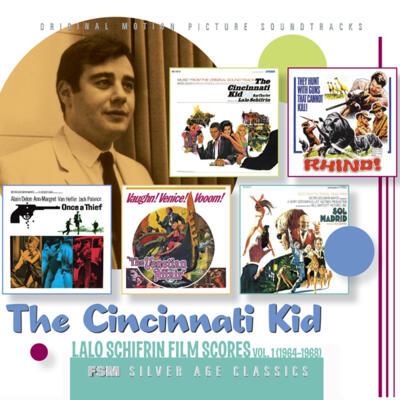 Cover art for The Cincinnati Kid: Lalo Schifrin Film Scores, Vol. 1 (1964–1968)