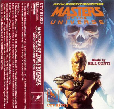 Cover art for Masters of the Universe (Original Motion Picture Soundtrack)