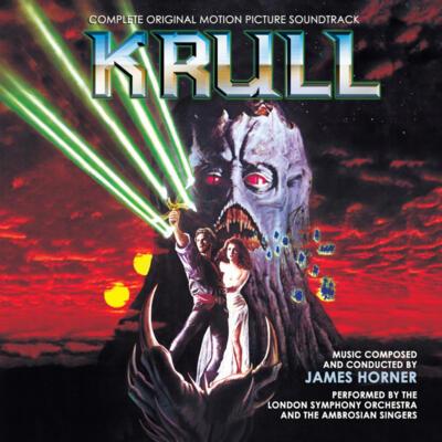 Cover art for Krull