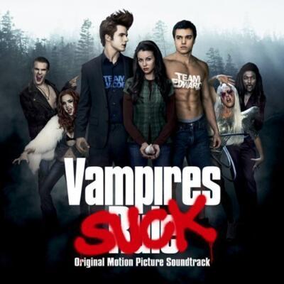 Cover art for Vampires Suck