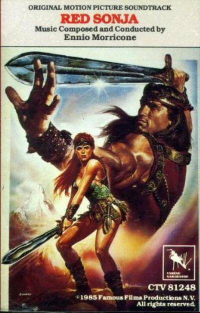 Cover art for Red Sonja