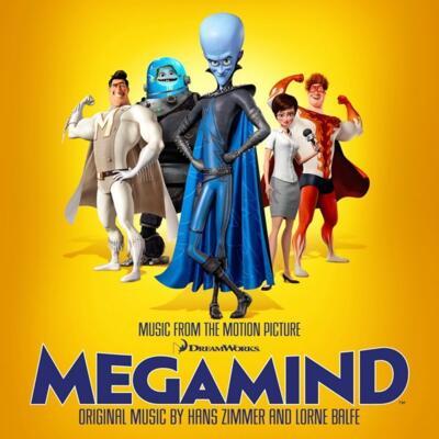Cover art for Megamind