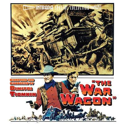Cover art for The War Wagon