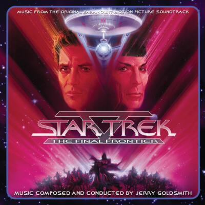 Cover art for Star Trek V: The Final Frontier