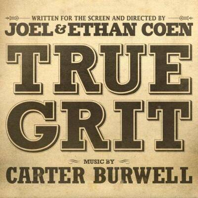 Cover art for True Grit