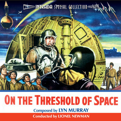 Cover art for On the Threshold of Space / The Hunters