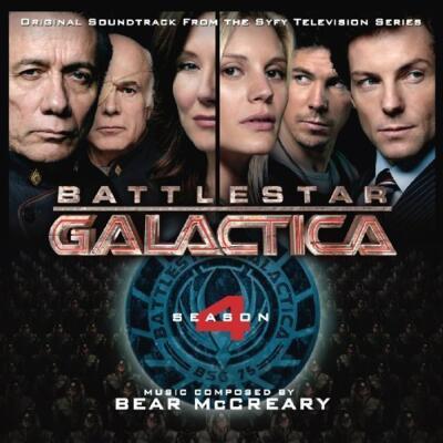 Cover art for Battlestar Galactica (Season 4)