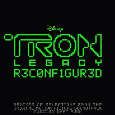 Cover art for TRON: Legacy (Reconfigured)