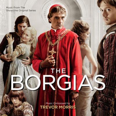 Cover art for The Borgias