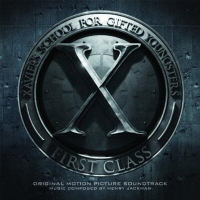 Cover art for X-Men: First Class