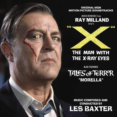 "Cover art for ""X"" The Man with X-Ray Eyes / Tales of Terror: Segment ""Morella"""
