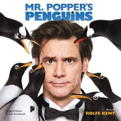 Cover art for Mr. Popper's Penguins