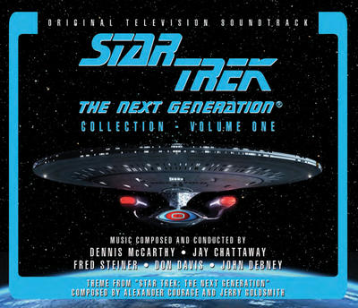 Cover art for Star Trek: The Next Generation Collection - Volume 1 (Original Television Soundtrack)