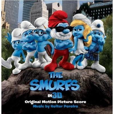 Cover art for The Smurfs (Original Motion Picture Score)