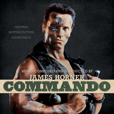 Cover art for Commando