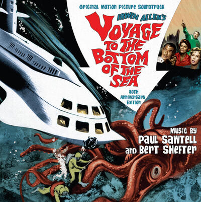 Cover art for Voyage to the Bottom of the Sea (50th Anniversary Edition)