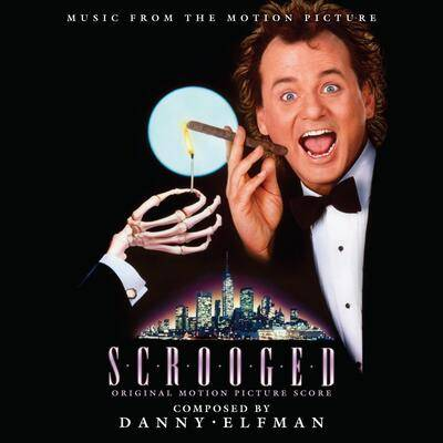 Cover art for Scrooged