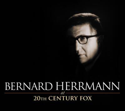 Cover art for Bernard Herrmann at 20th Century Fox