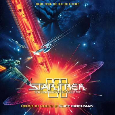 Cover art for Star Trek VI: The Undiscovered Country (Music From The Motion Picture)
