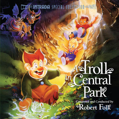 Cover art for A Troll in Central Park
