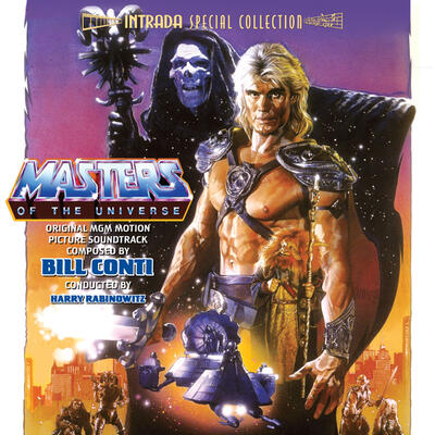 Cover art for Masters of the Universe (Original MGM Motion Picture Soundtrack)
