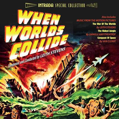 Cover art for War of the Worlds / When Worlds Collide