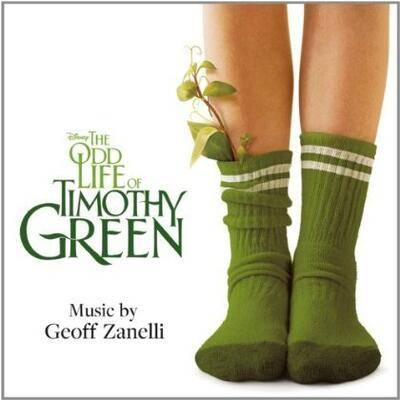 Cover art for The Odd Life of Timothy Green