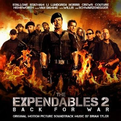 Cover art for The Expendables 2
