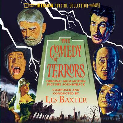 Cover art for The Comedy of Terrors
