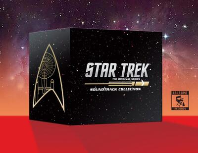 Cover art for Star Trek: The Original Series Soundtrack Collection