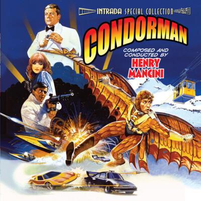 Cover art for Condorman