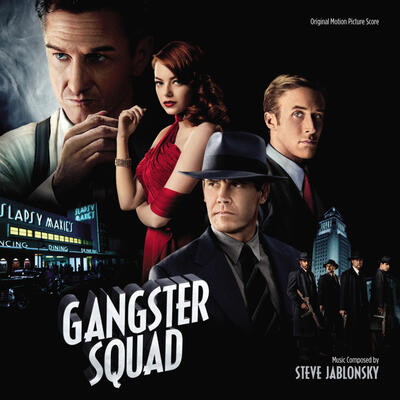 Cover art for Gangster Squad (Original Motion Picture Score)