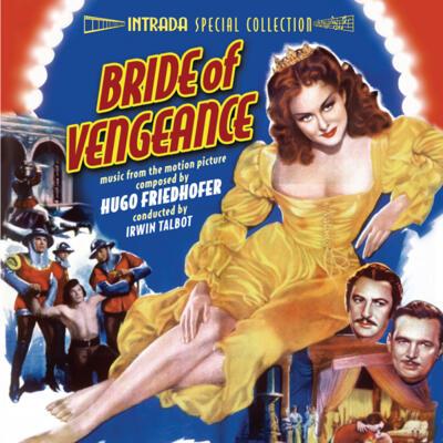 Cover art for Bride of Vengeance / Captain Carey, U.S.A.