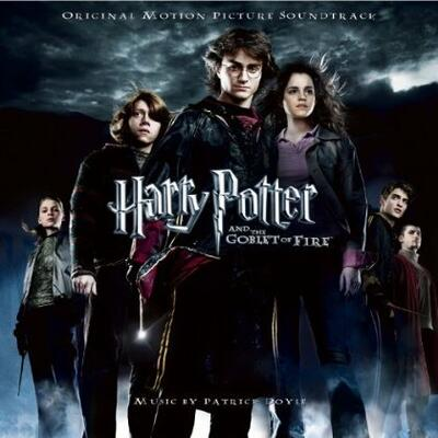 Cover art for Harry Potter and the Goblet of Fire (Original Motion Picture Soundtrack)