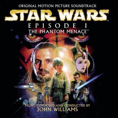 Cover art for Star Wars: Episode I - The Phantom Menace (Hyperdrive (Black w/ White Splatter))