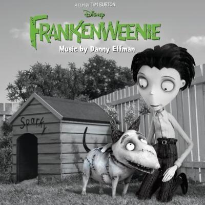 Cover art for Frankenweenie