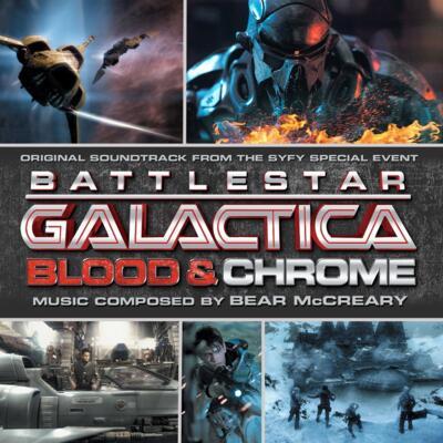 Cover art for Battlestar Galactica: Blood & Chrome