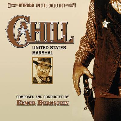 Cover art for Cahill U.S. Marshal