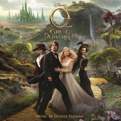Cover art for Oz the Great and Powerful