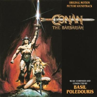 Cover art for Conan the Barbarian