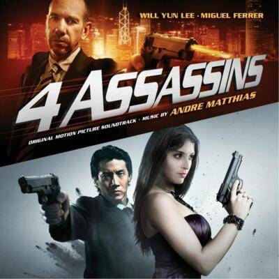 Cover art for Four Assassins