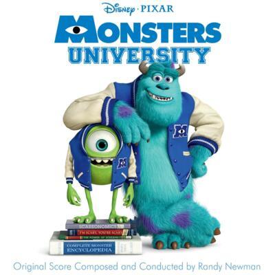 Cover art for Monsters University